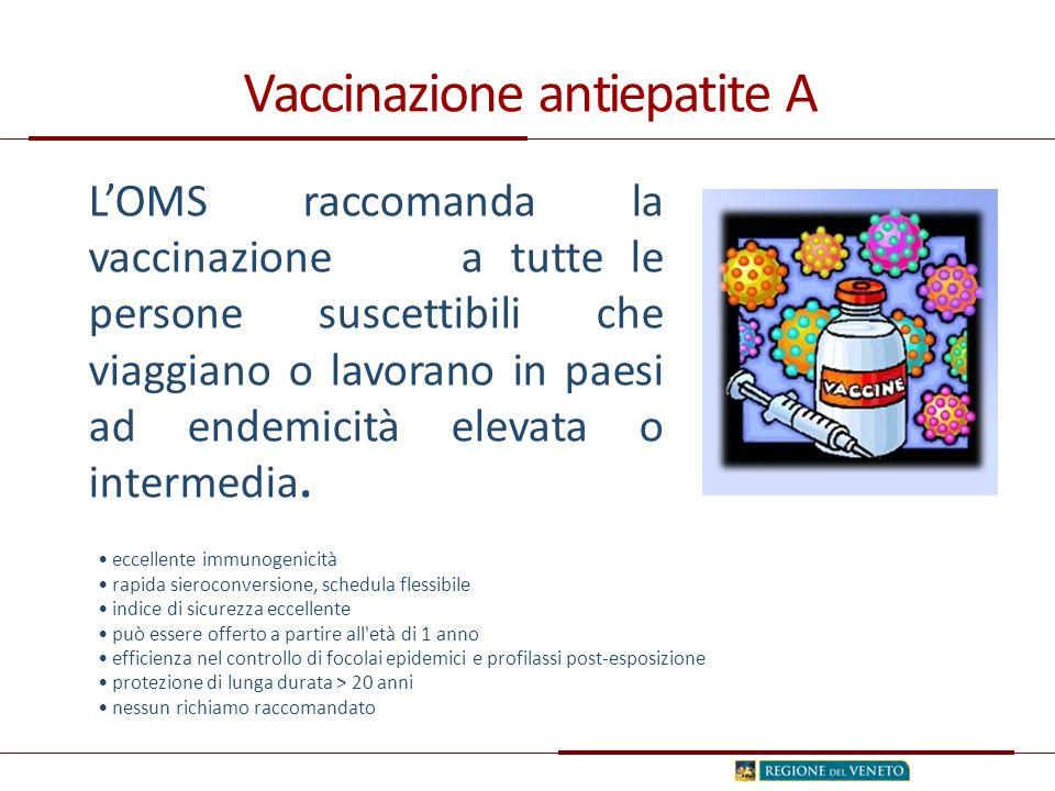 Vaccinazione antiepatite A