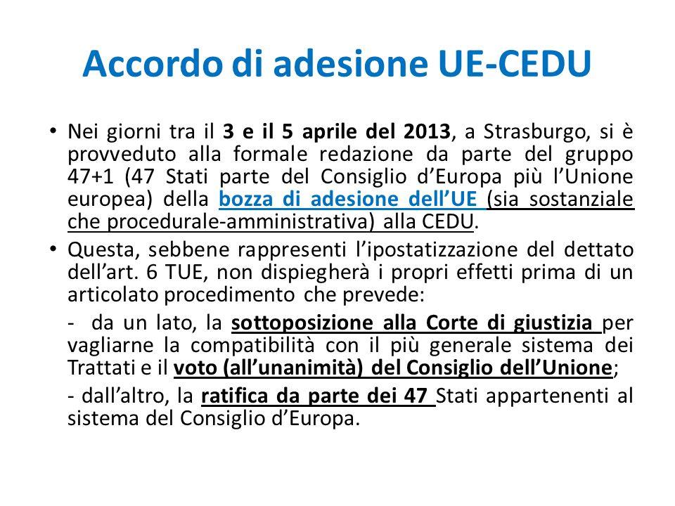 Accordo di adesione UE-CEDU
