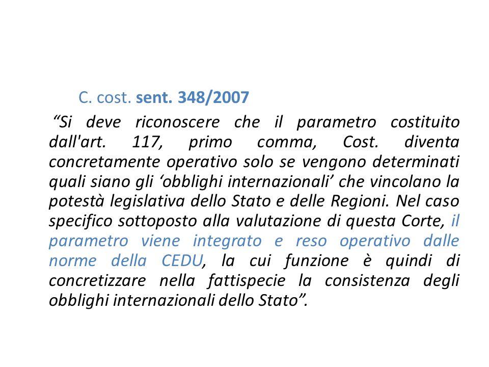 C. cost. sent. 348/2007