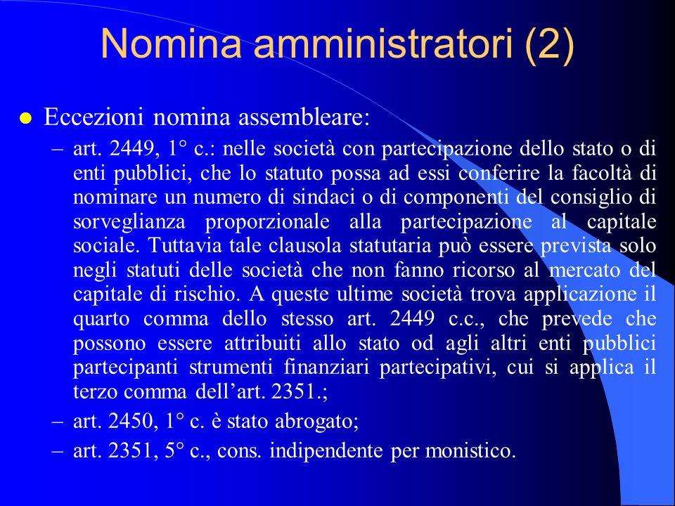 Nomina amministratori (2)