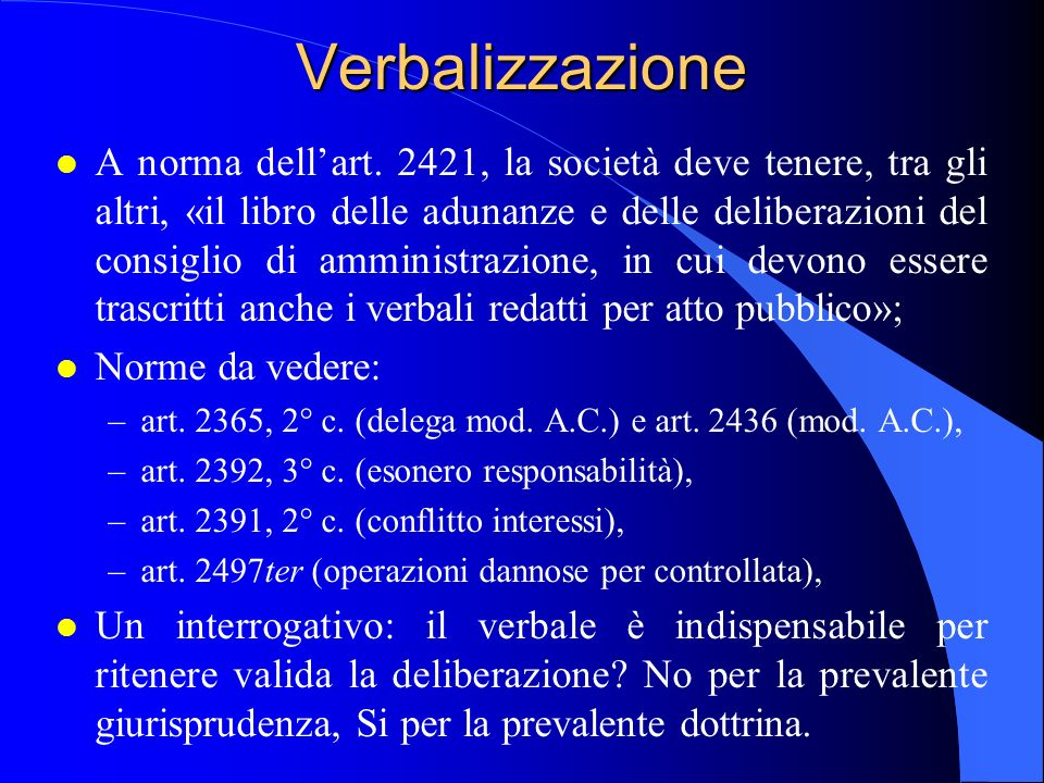 Verbalizzazione 23/04/2017.