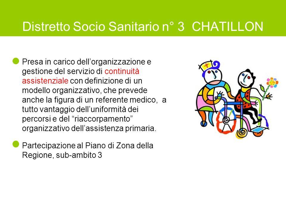 Distretto Socio Sanitario n° 3 CHATILLON
