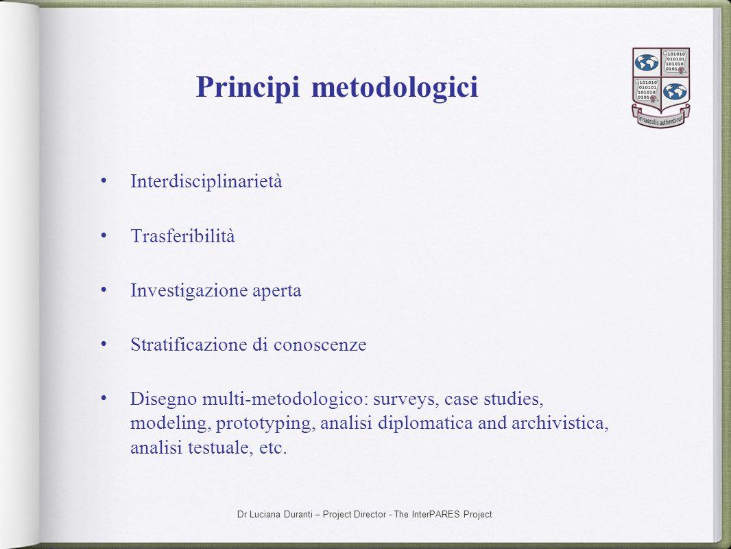 Principi metodologici