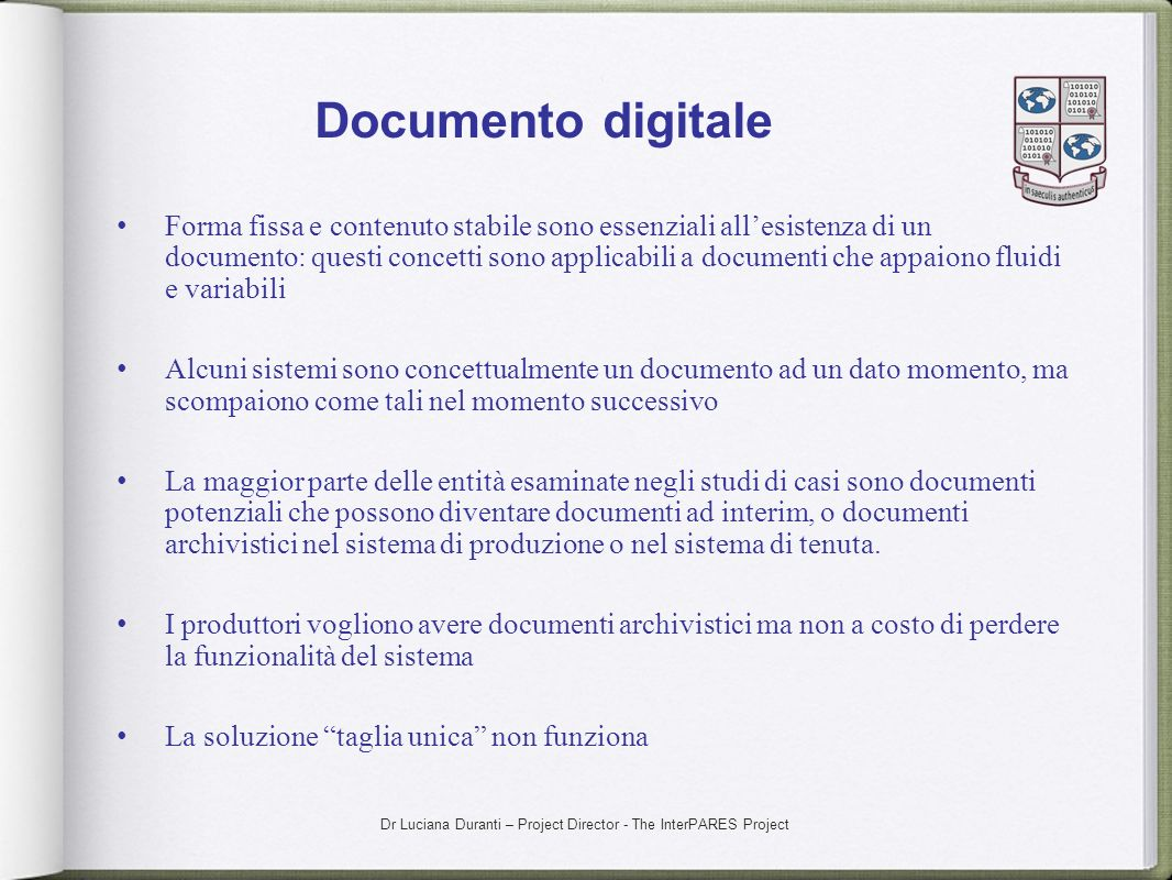 Documento digitale