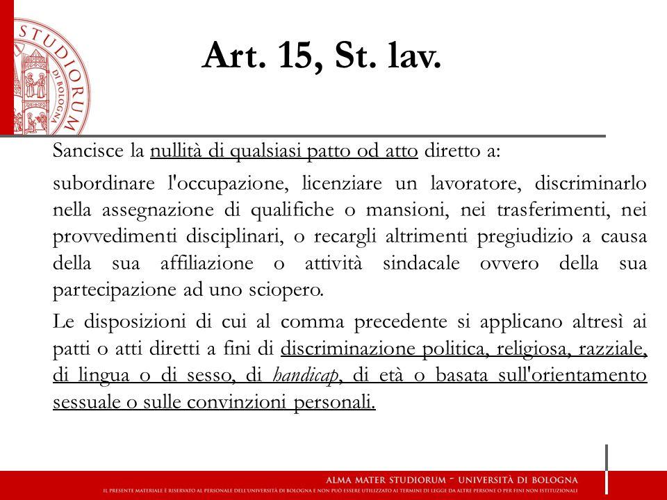 Art. 15, St. lav.
