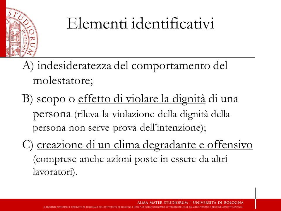 Elementi identificativi