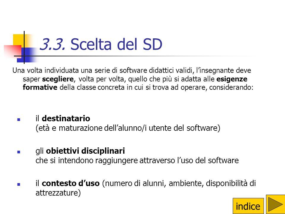 3.3. Scelta del SD
