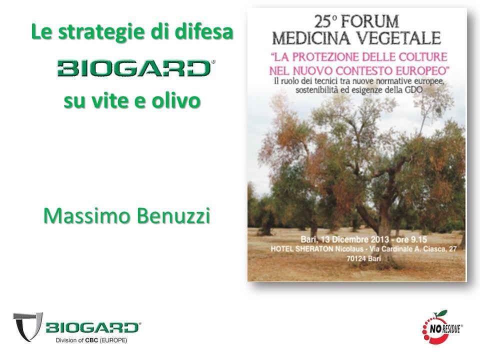 Le strategie di difesa su vite e olivo