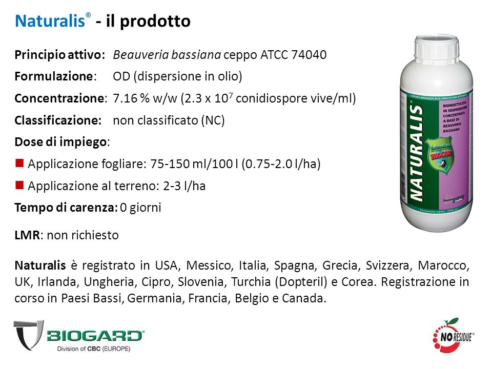 Naturalis® - il prodotto