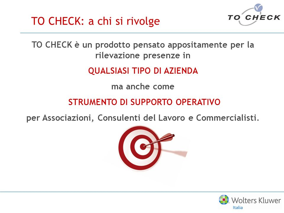 TO CHECK: a chi si rivolge