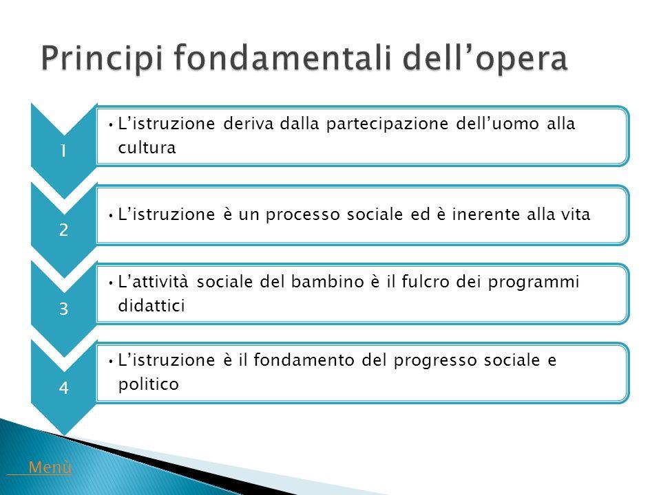 Principi fondamentali dell'opera