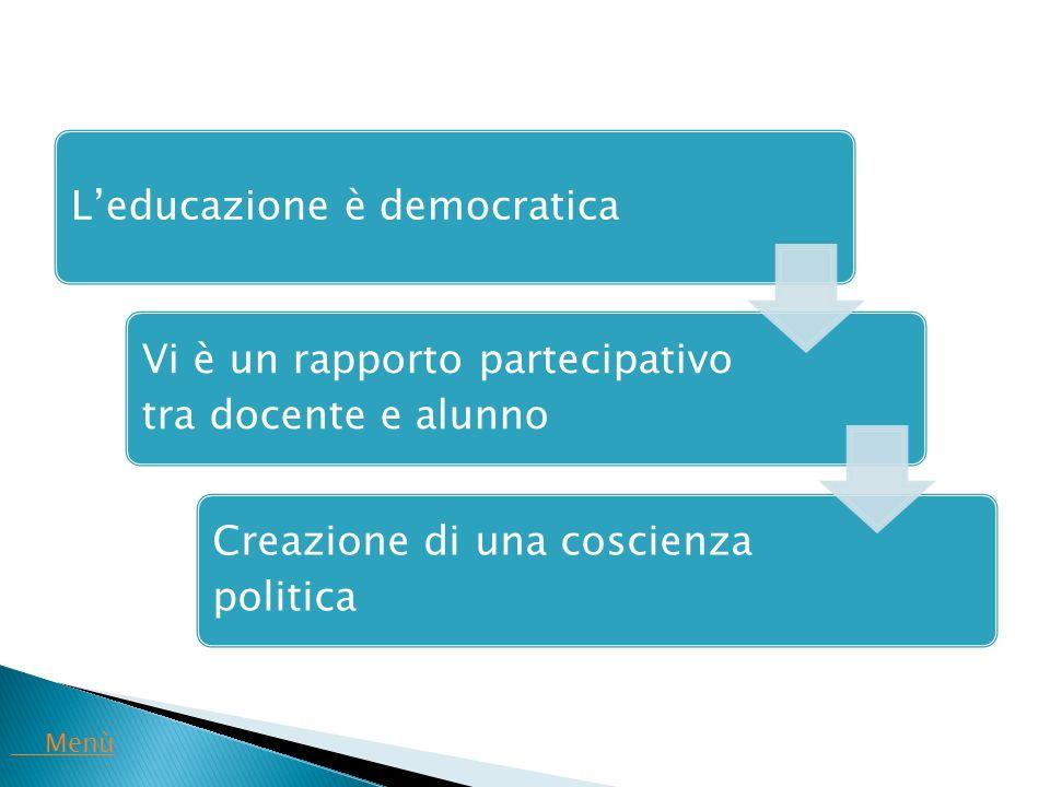 L'educazione è democratica