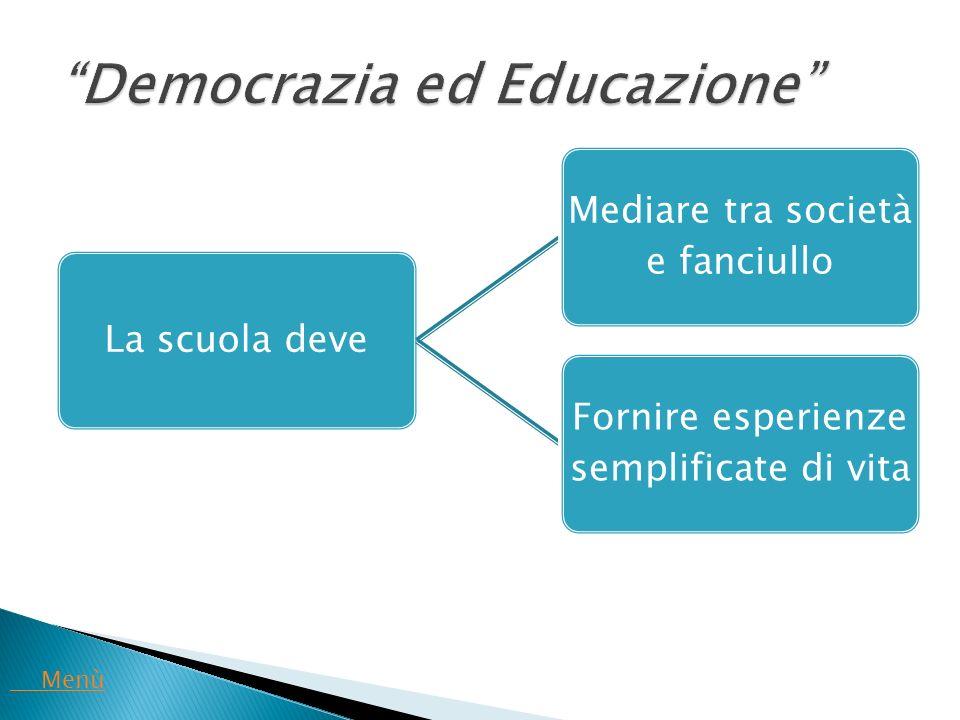 Democrazia ed Educazione