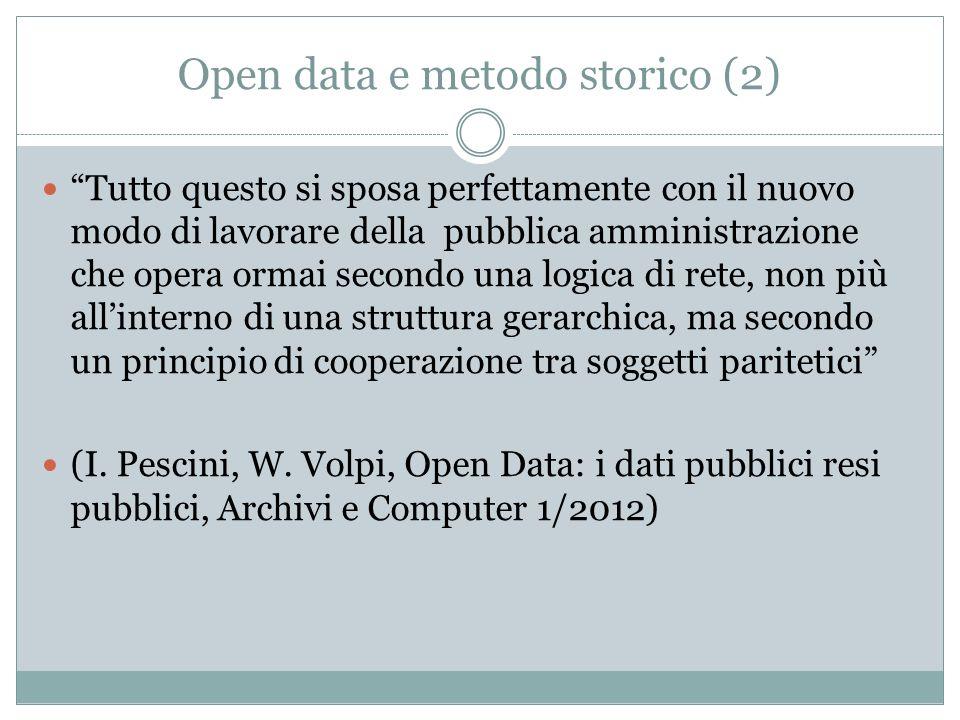 Open data e metodo storico (2)
