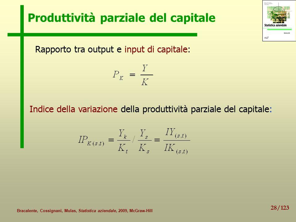 Produttività parziale del capitale