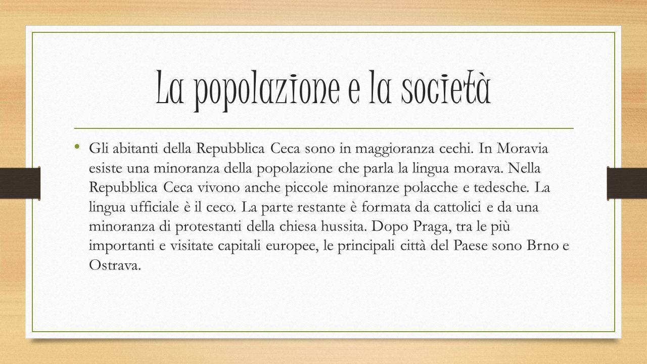 La popolazione e la società