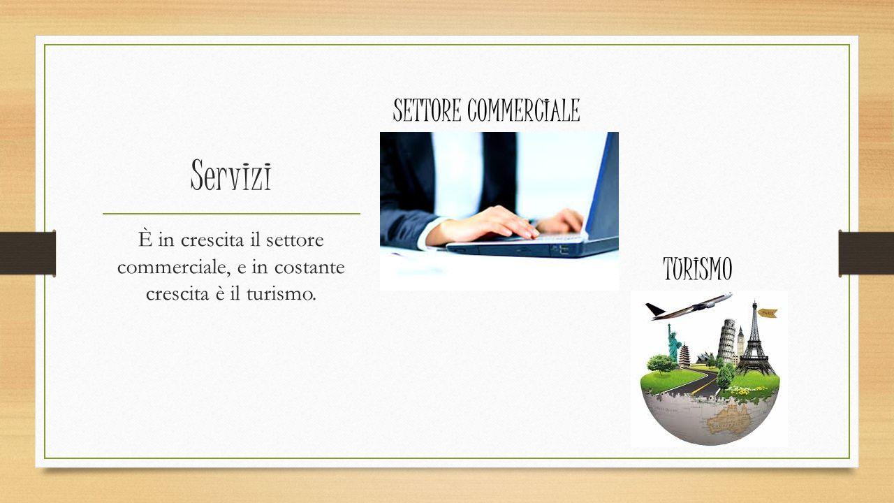 Servizi SETTORE COMMERCIALE TURISMO