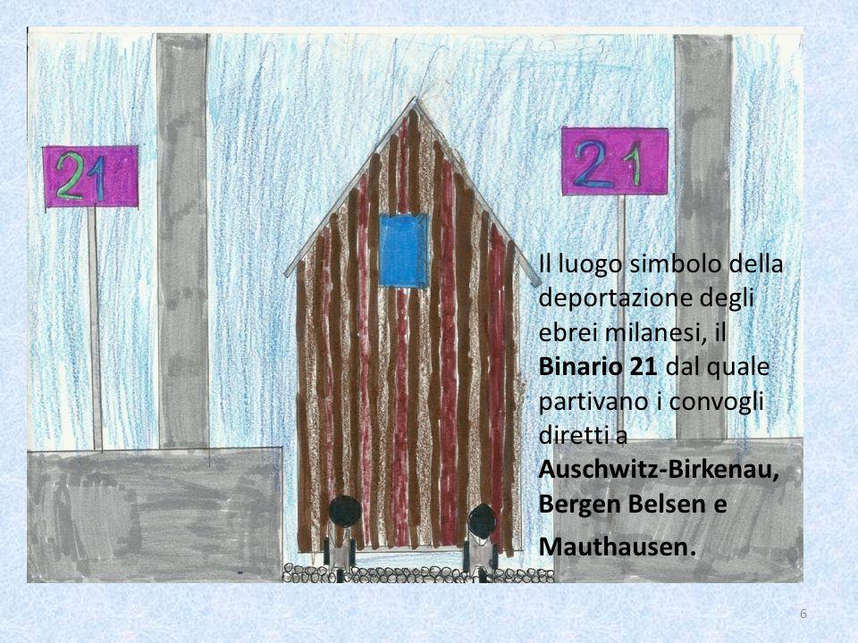 Il luogo simbolo della deportazione degli ebrei milanesi, il Binario 21 dal quale partivano i convogli diretti a