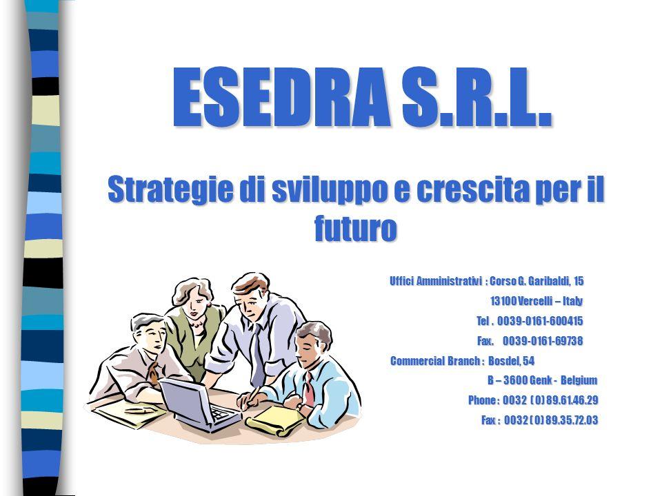 ESEDRA S.R.L. Strategie di sviluppo e crescita per il futuro