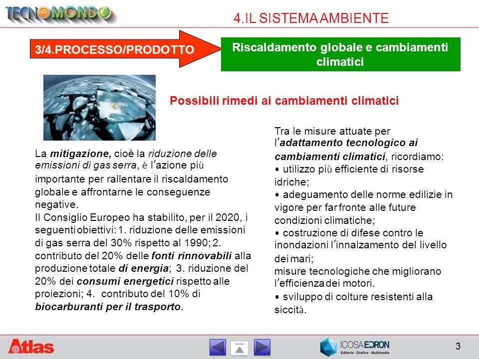 Riscaldamento globale e cambiamenti climatici