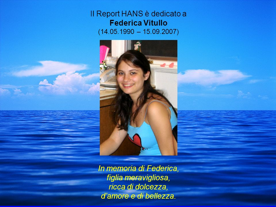 Il Report HANS è dedicato a