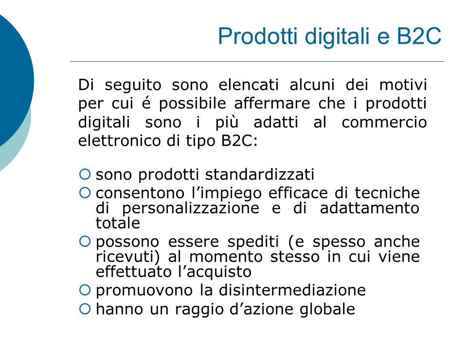 Prodotti digitali e B2C