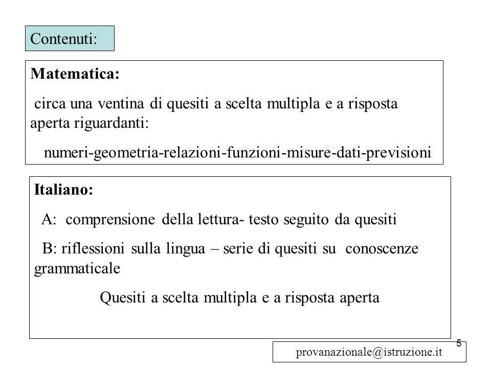 numeri-geometria-relazioni-funzioni-misure-dati-previsioni
