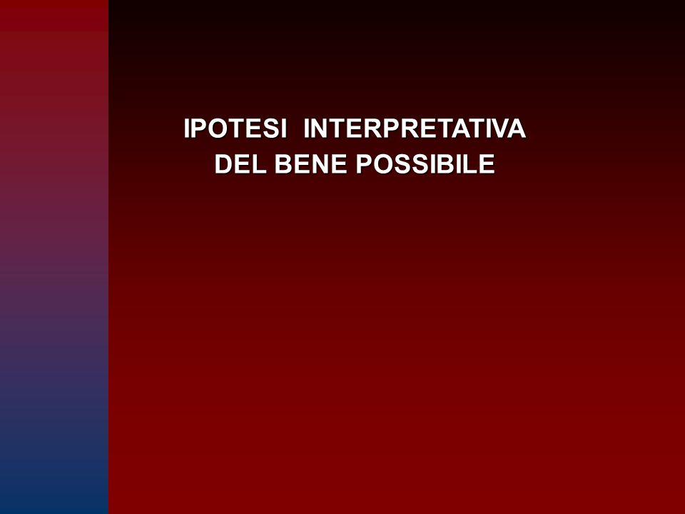 IPOTESI INTERPRETATIVA