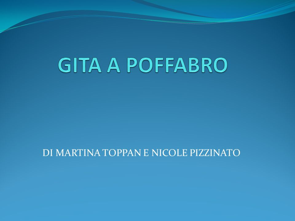 DI MARTINA TOPPAN E NICOLE PIZZINATO