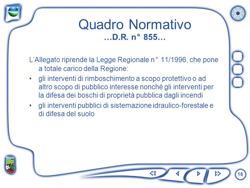 Quadro Normativo …D.R. n° 855…