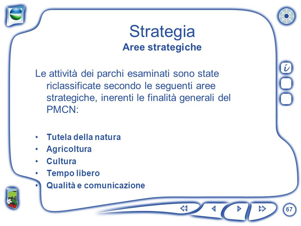 Strategia Aree strategiche