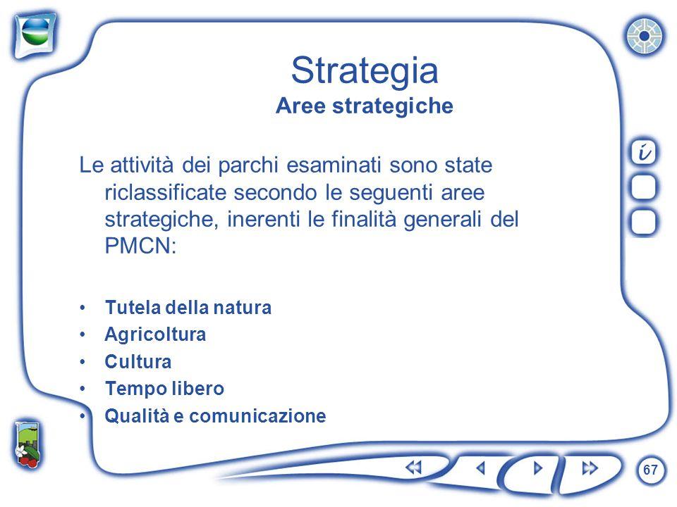 Strategia Aree strategiche