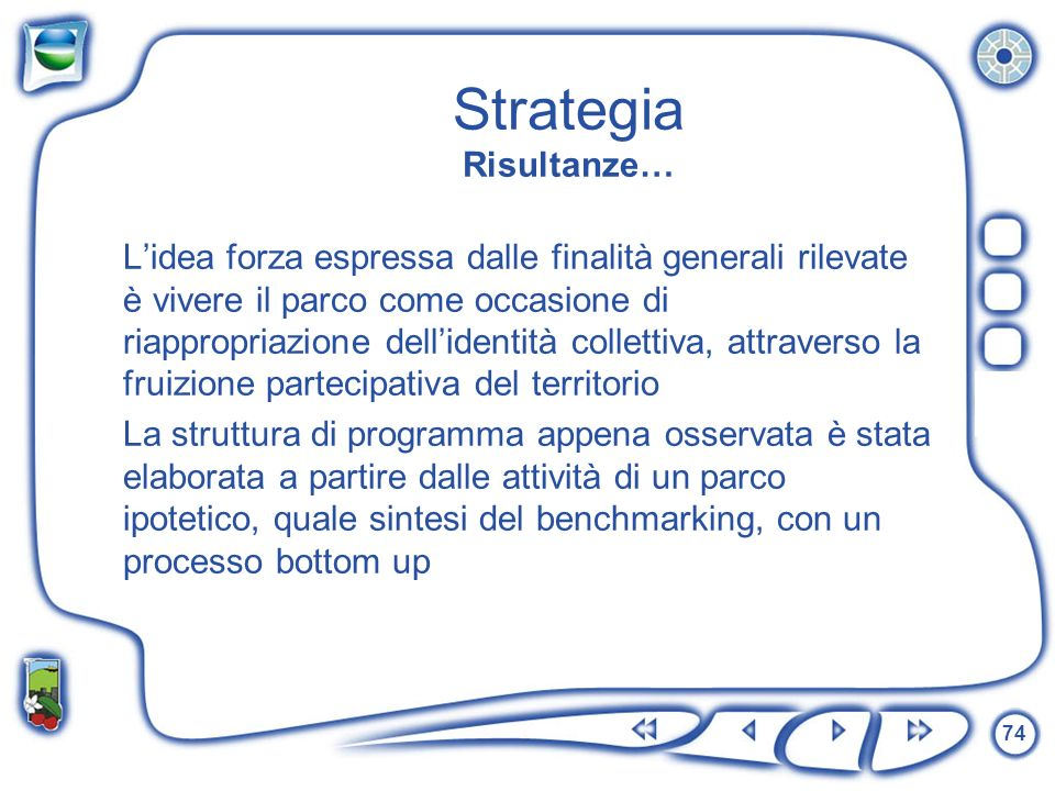 Strategia Risultanze…