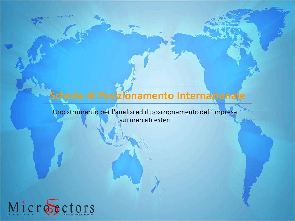 Scheda di Posizionamento Internazionale