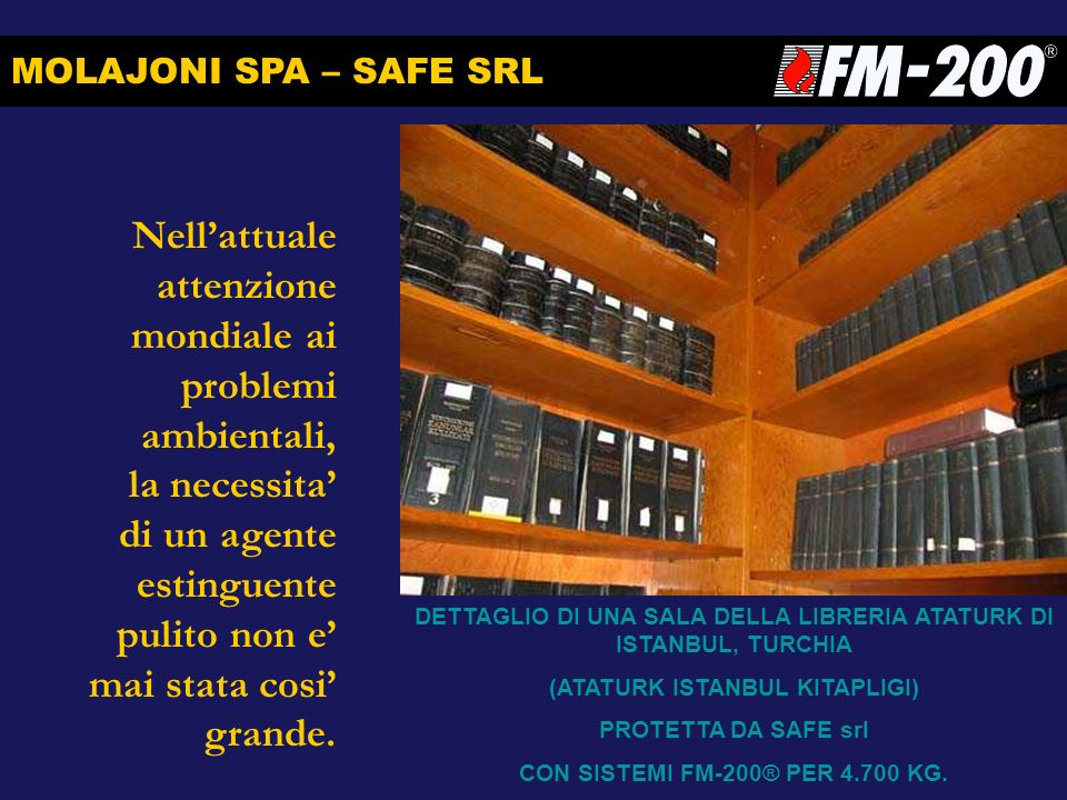 MOLAJONI SPA – SAFE SRL