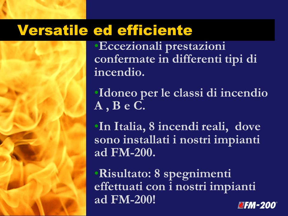 Versatile ed efficiente