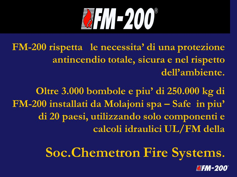 Soc.Chemetron Fire Systems.