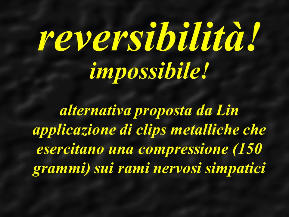 reversibilità!