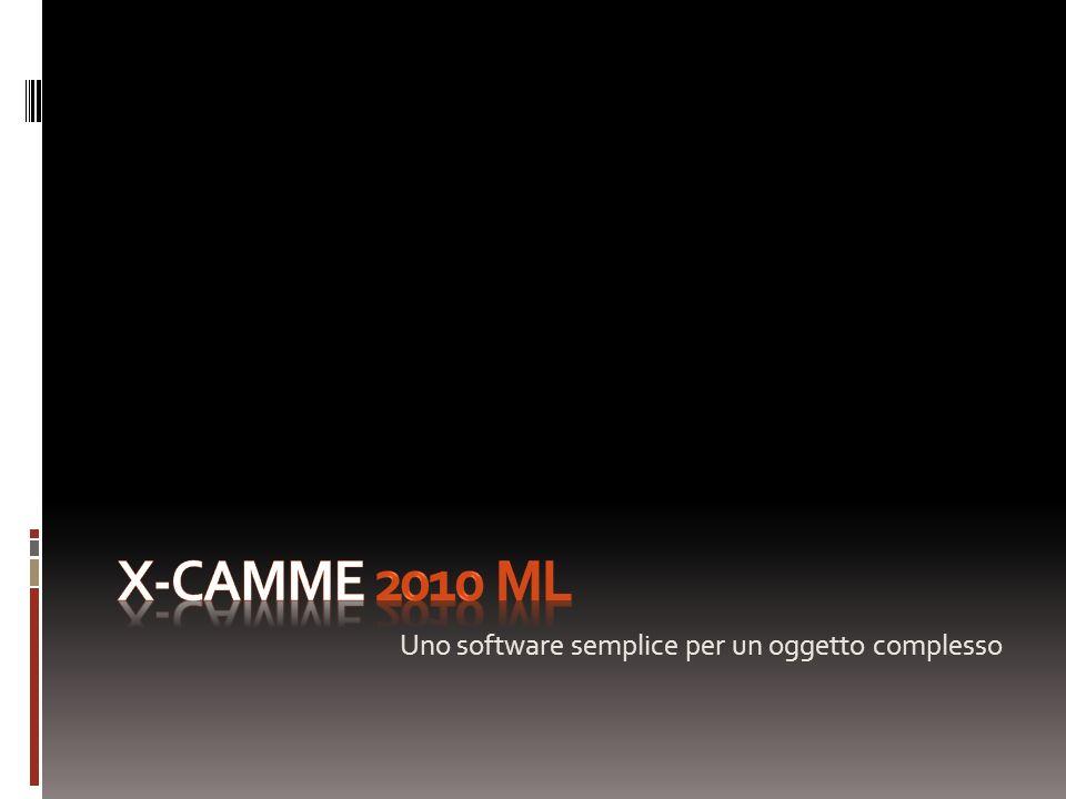 X-Camme 2010 ML Uno software semplice per un oggetto complesso