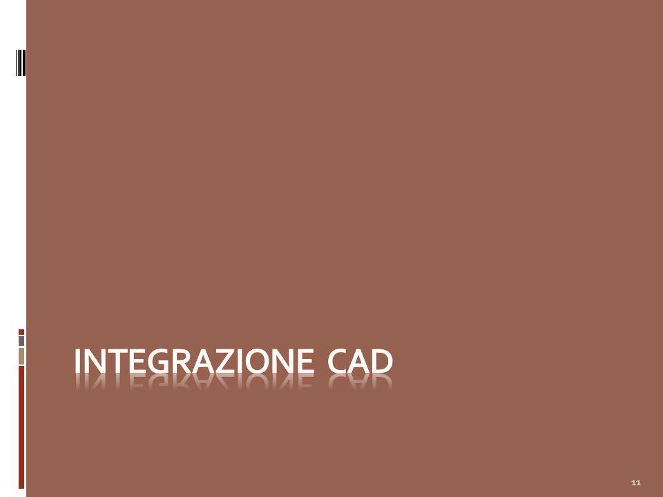 INTEGRAZIONE CAD