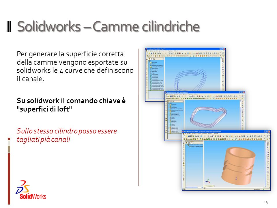 Solidworks – Camme cilindriche