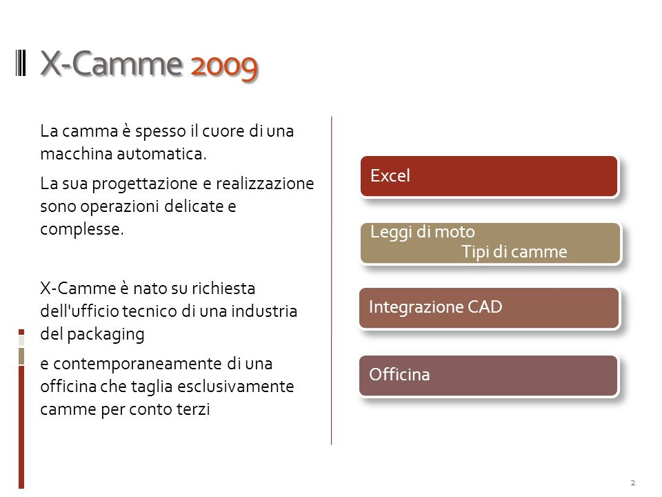 X-Camme 2009