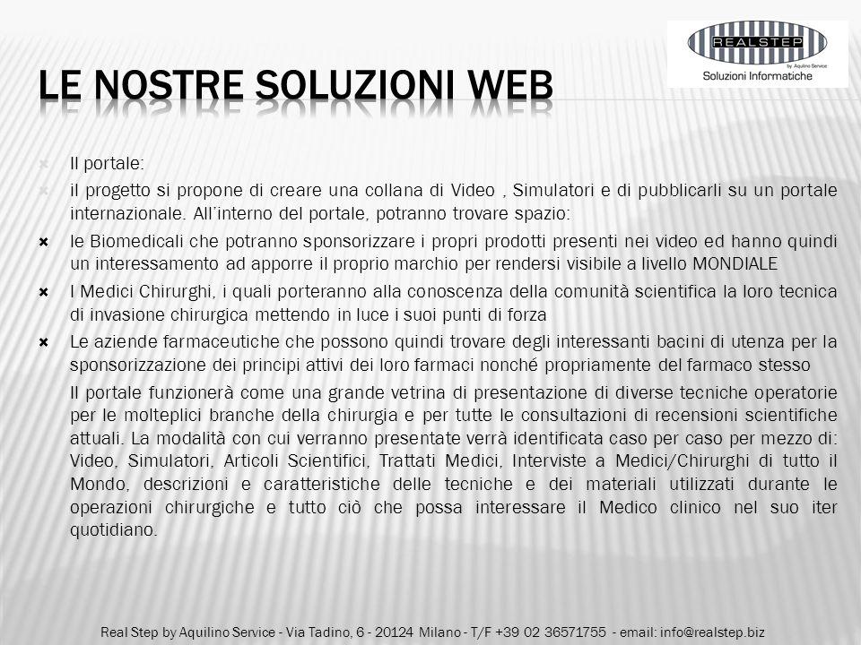 le nostre soluzioni web