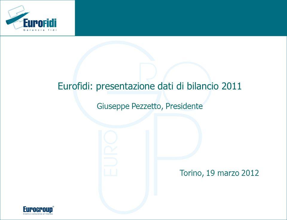 Eurofidi: presentazione dati di bilancio 2011