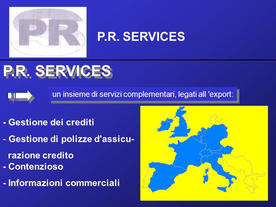 un insieme di servizi complementari, legati all export: