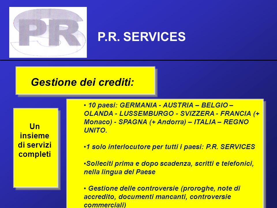 Un insieme di servizi completi