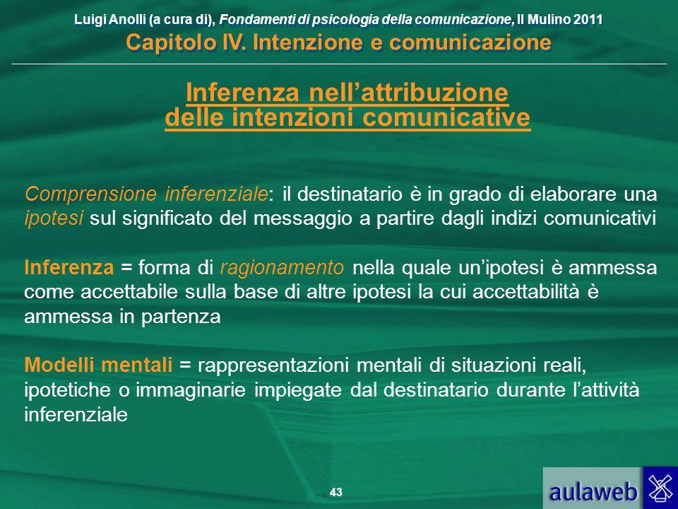 Inferenza nell'attribuzione delle intenzioni comunicative