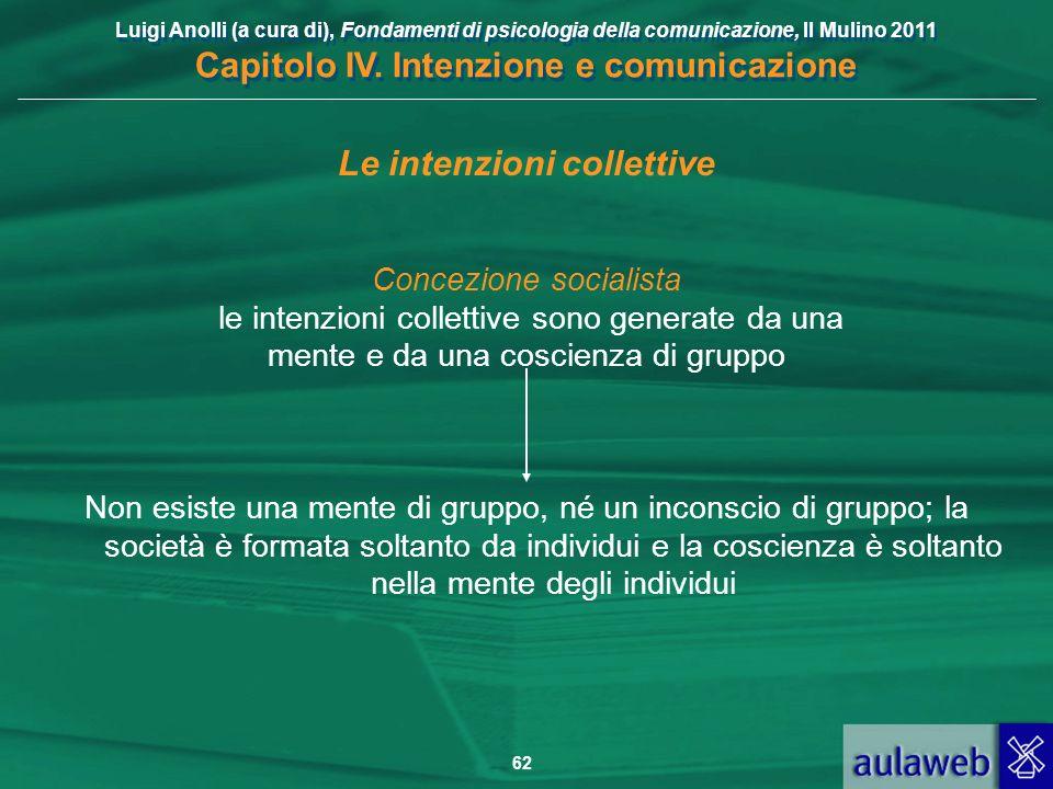 Le intenzioni collettive