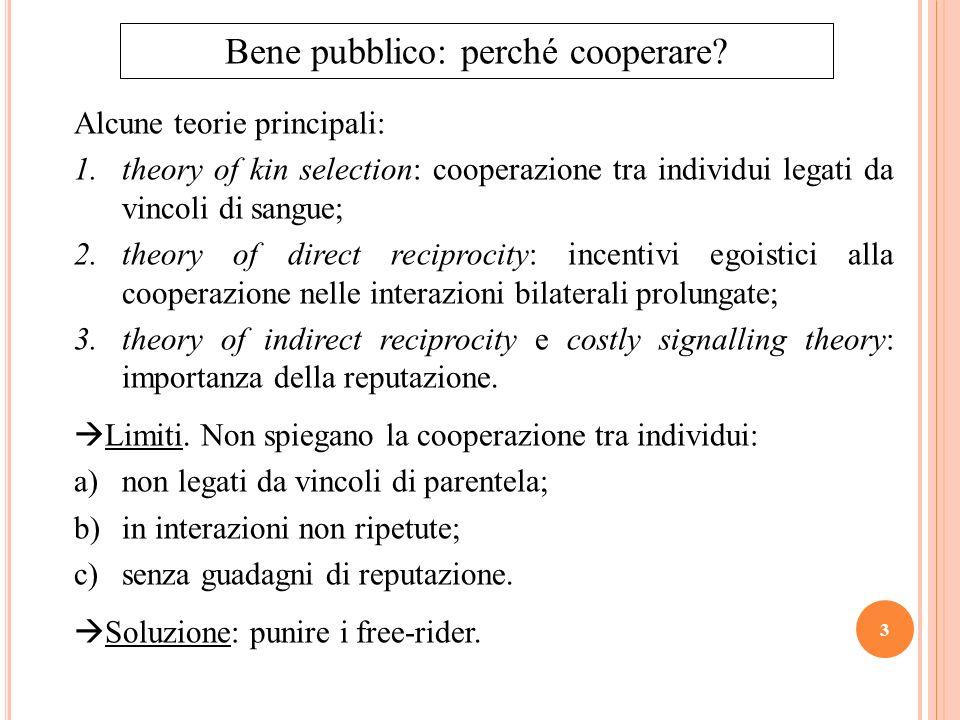 Bene pubblico: perché cooperare