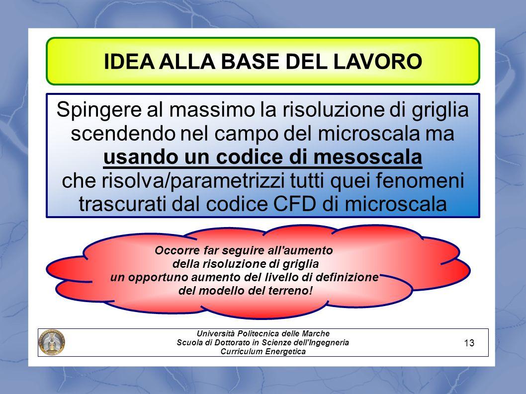 IDEA ALLA BASE DEL LAVORO